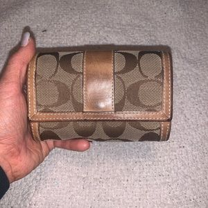 Coach Small Keychain Wallet